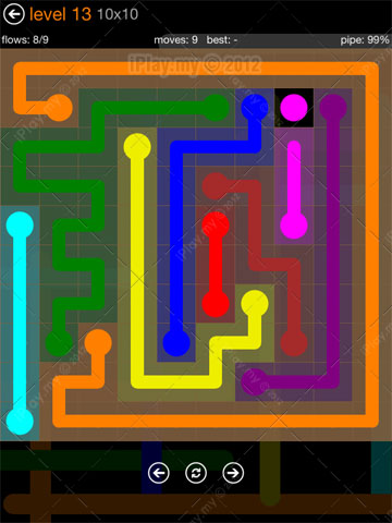 Flow Game 10 10 Solution Iplay My