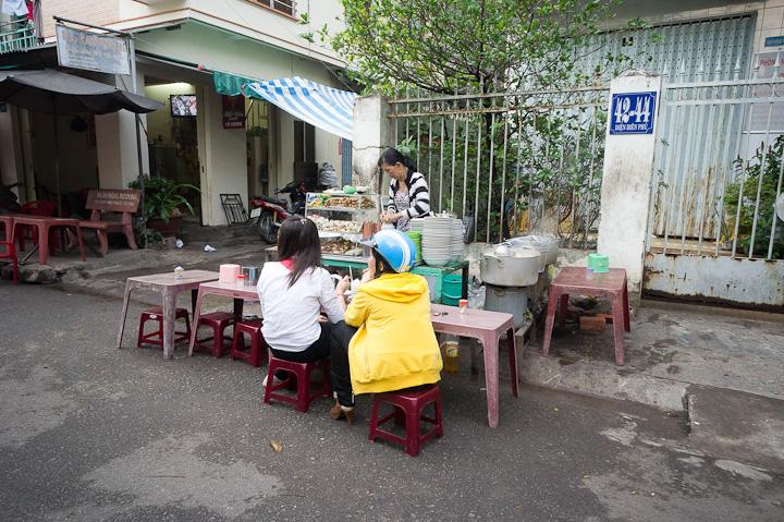 Vietnamese food stalls