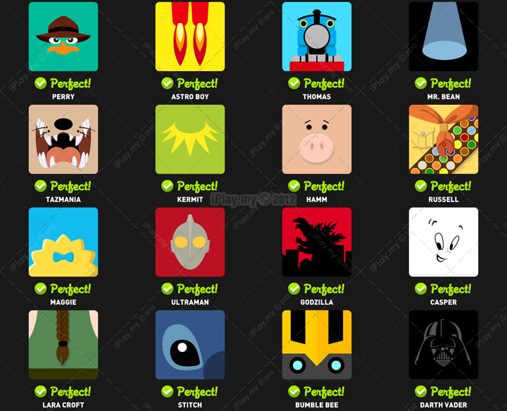 Icon pop quiz answer character level 2b