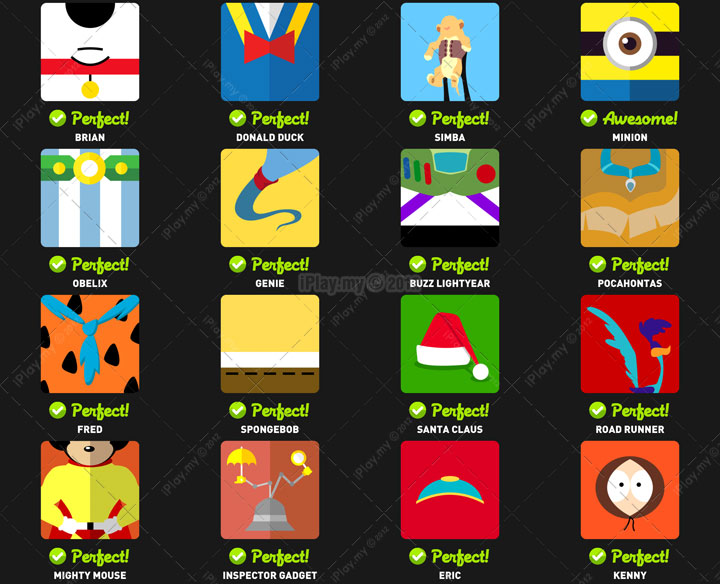 Icon pop quiz answer character level 3c