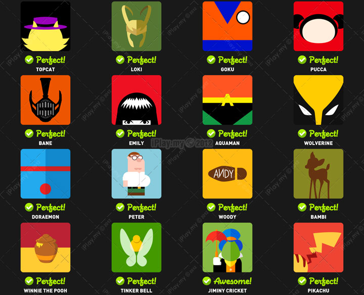 Icon pop quiz answer character level 5b