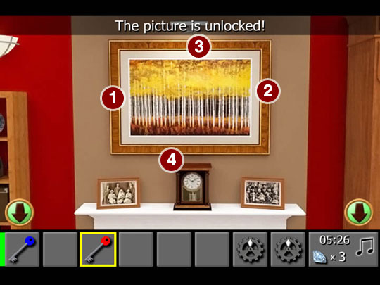 diamond escape 2 walkthrough unlock the picture frame 1
