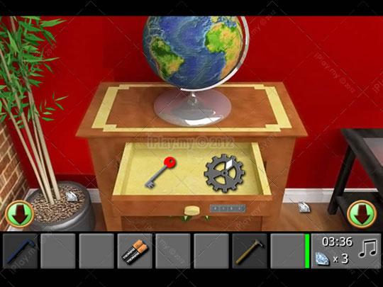 diamond escape 2 walkthrough unlock the table drawer 3