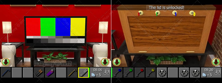 diamond escape 2 walkthrough unlock the wooden lid 4