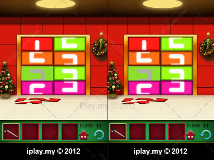 100 floors christmas solutions and walkthrough for 100 floors valentines floor 11