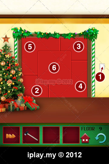 100 Floors Christmas Solutions And Walkthrough Iplay My