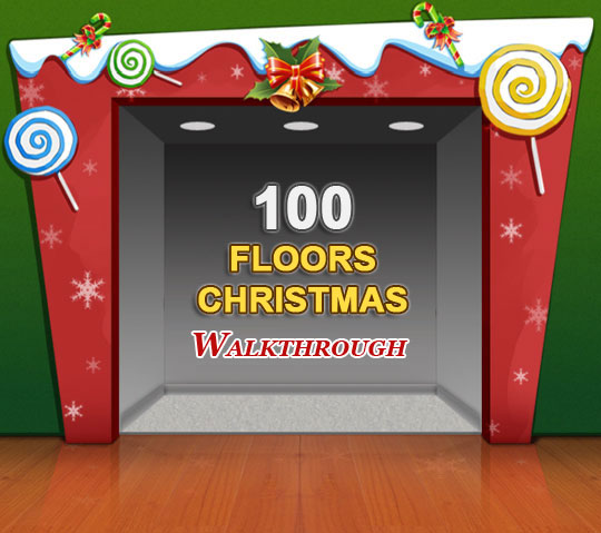100 floors christmas solutions and walkthrough