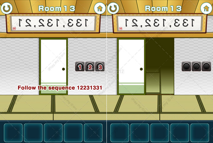100 Fusumas Room Escape Walkthrough Iplay My Page 13