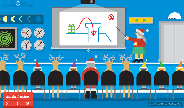 Google Santa Tracker Briefing
