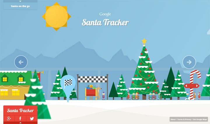 Google Santa Tracker Cover