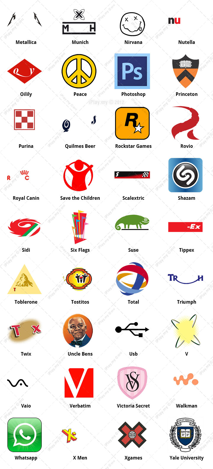 Logo Quiz Answers Level 13 Clothing And Apparel | Joy ...