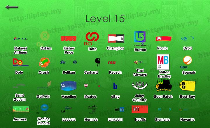 Hardest Logos Quiz Answers Brand Level 15