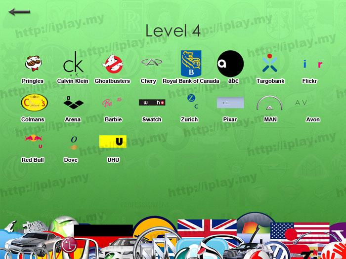 Hardest Logos Quiz answers level 4b