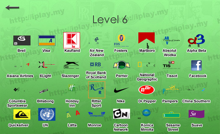 Hardest Logos Quiz Answers Brand Level 6