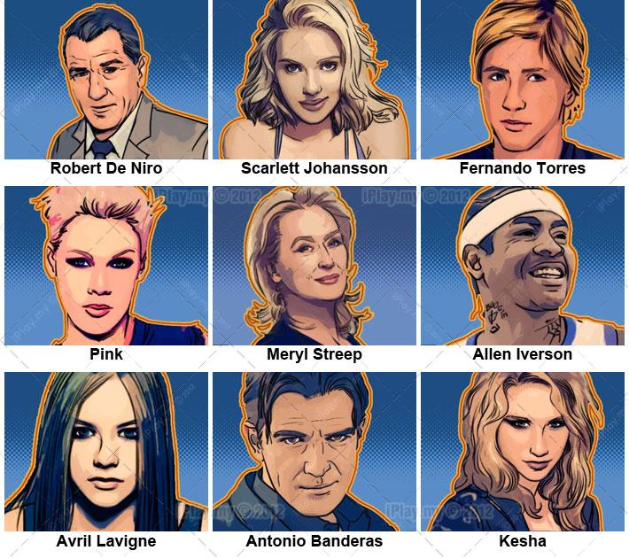 Celebrity Match Quizzes - Quotev