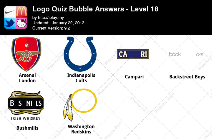 logo quiz bubble answers iplaymy