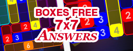 Boxes Free 7x7 Cover