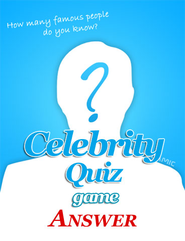 Celebrity Quiz Game Answers cover
