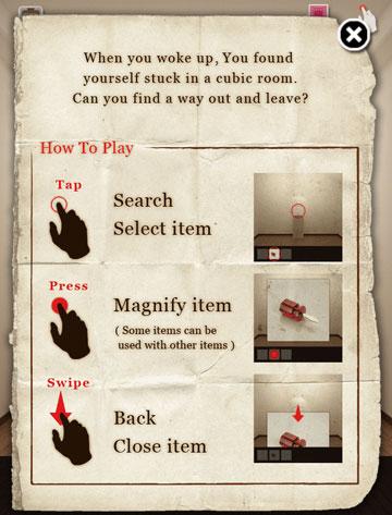 CUBIC ROOM escape Basic Info