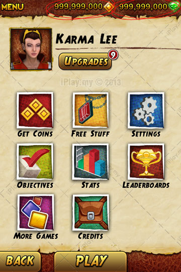 How to cheats in Temple Run 2 proof 1