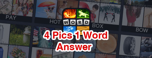 4 Pics 1 Words Answers cover