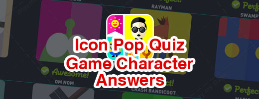 Icon Pop Quiz Answers Weekend Specials Game Character Cover