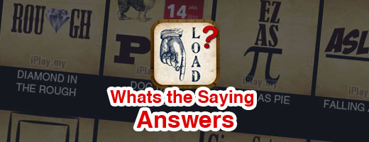 What's the Saying Answers with Pictures Cover