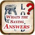 What's the Saying Answers with Pictures Featured