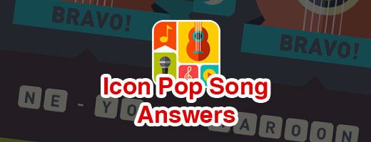 Icon Pop Song All Level Answers Cover