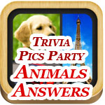 Trivia Pics Party Answers Animals Featured