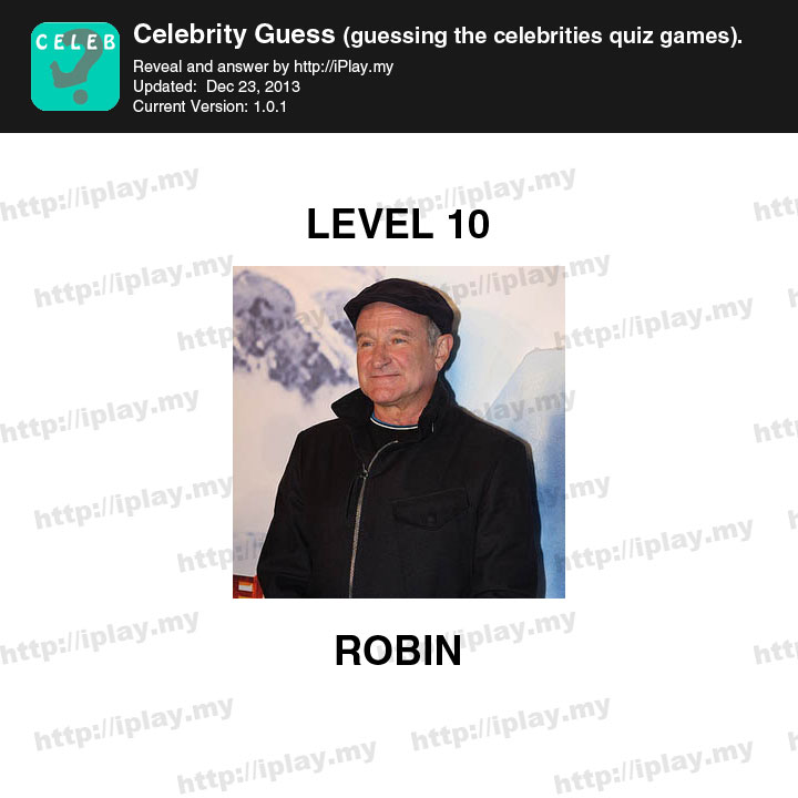 Guess the celebrity level 166
