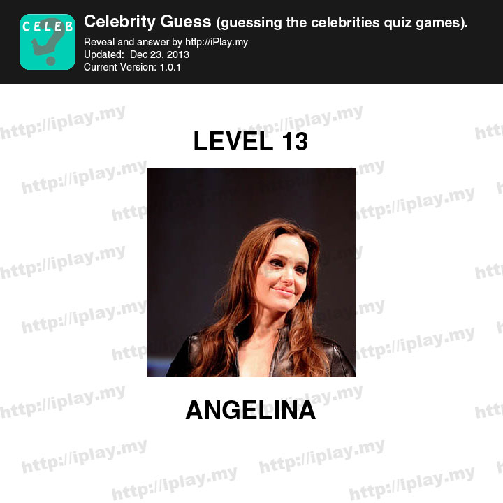 Celebrity Guess Answer...