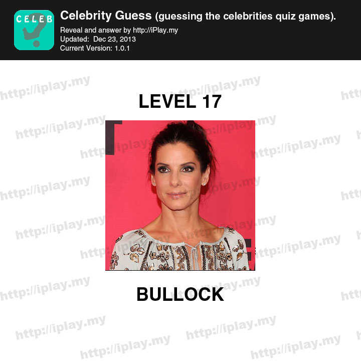 Star Quiz - guess the celebrity! Level 23 Answer - YouTube