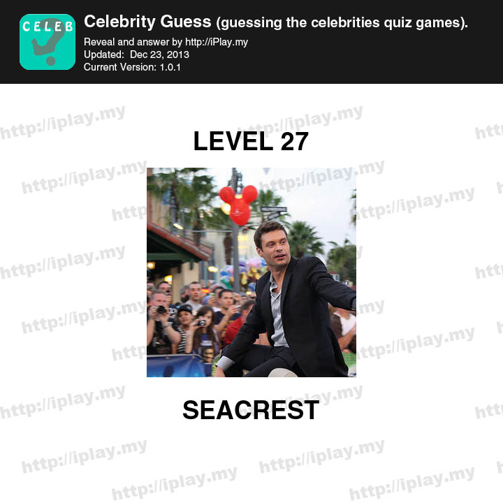 Guess The Celebrity (Taps Arena): Pack 5 Level 27 Answer ...