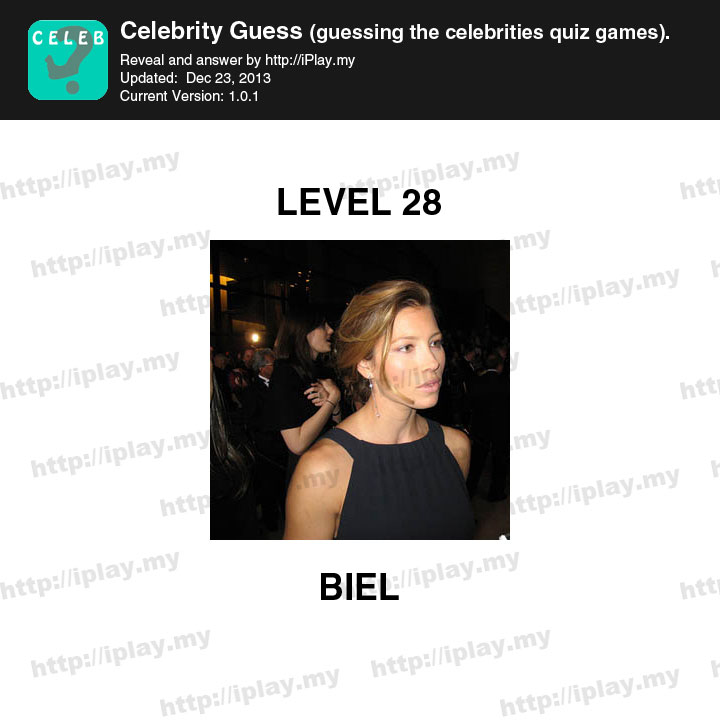Guess That Celebrity: Quiz No 13 Answer - Game Help Guru