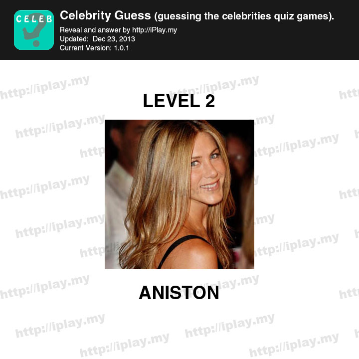 Celebrity Guess Answers: Levels 1 to 30 | Celebrity Guess