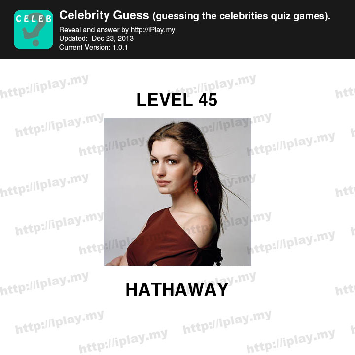 Celebrity Guess Level 28 - Funscrape