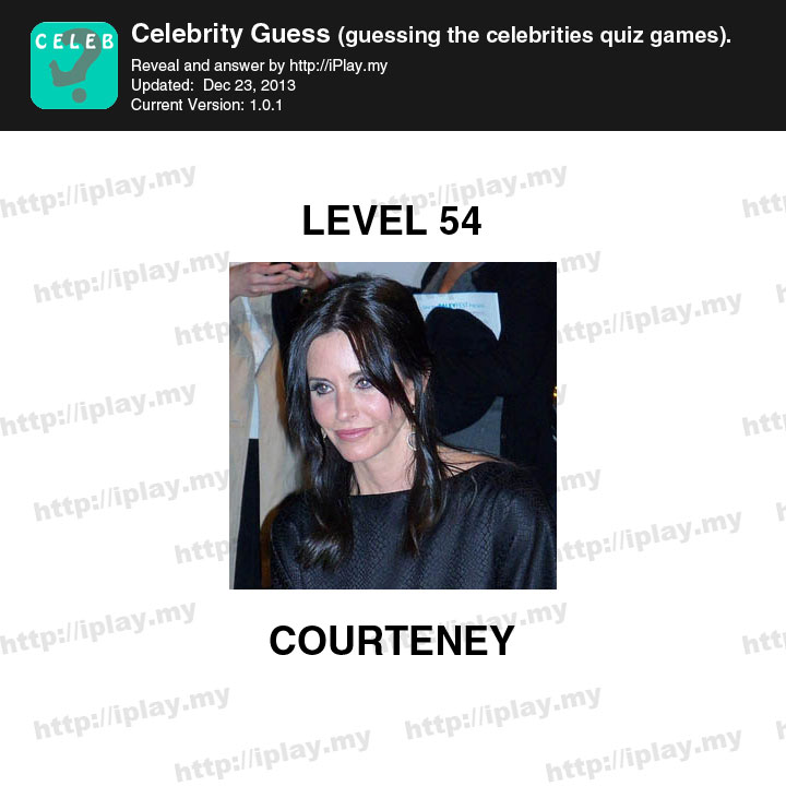 Celebrity Guess Level 31-40 Answers - App Game Answers