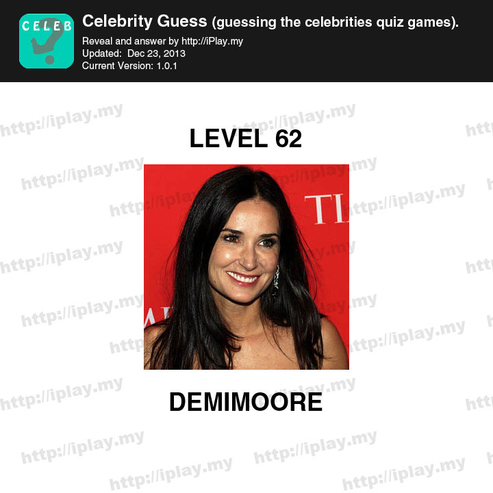 Celebrity Guess Level 20 - Game Solver
