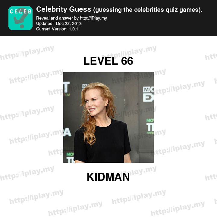 Celebrity Guess Answers: Levels 61 to 90 | Celebrity Guess