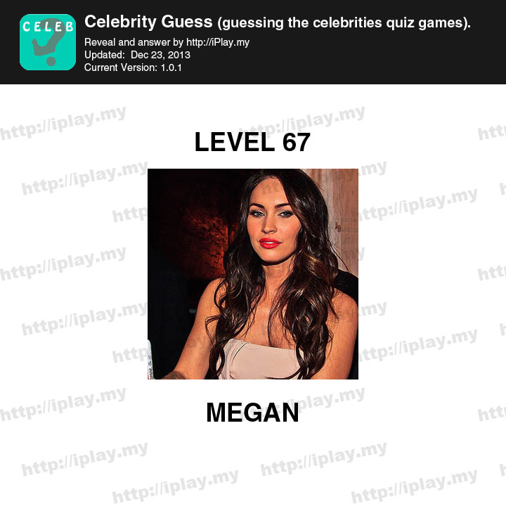 Celebrity Guess Level 19 - AnswersKey
