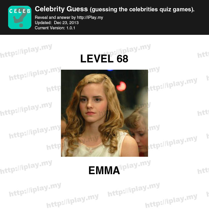 Celebrity Guess Level 1-30 Answers - App Cheaters
