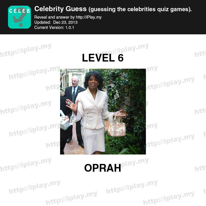Guess That Celebrity Answers All Levels | Guides etc.