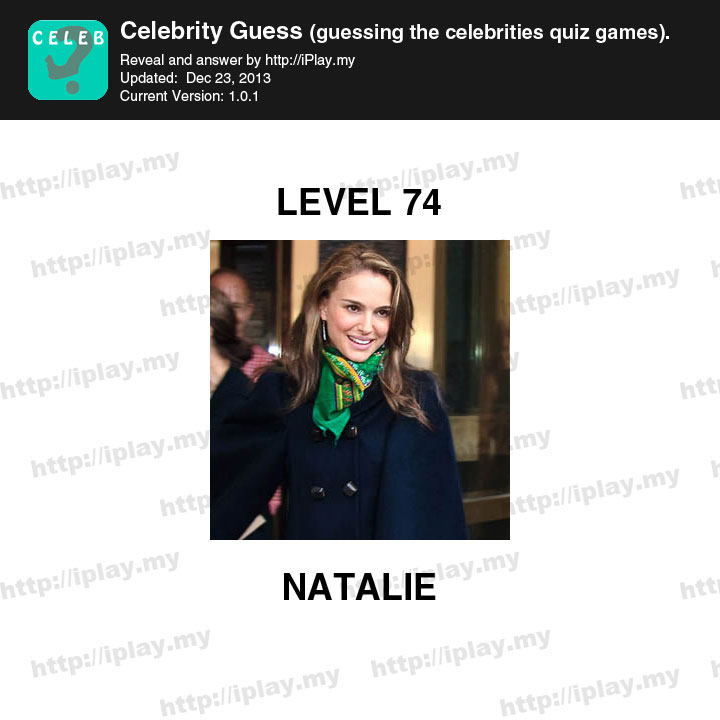 Celebrity Guess Answers: Levels 31 to 60 | Celebrity Guess