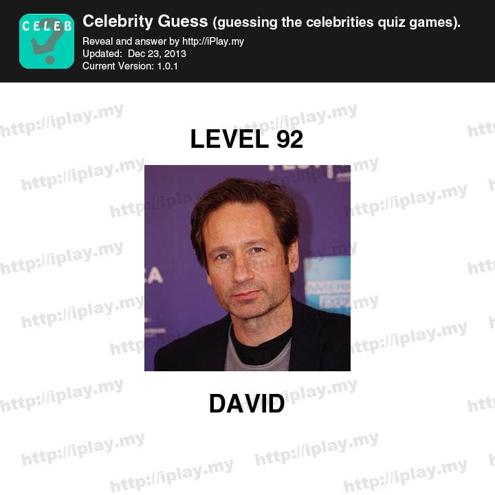 Hi Guess 100: Celebrity Level 92 Answer - Game Help Guru
