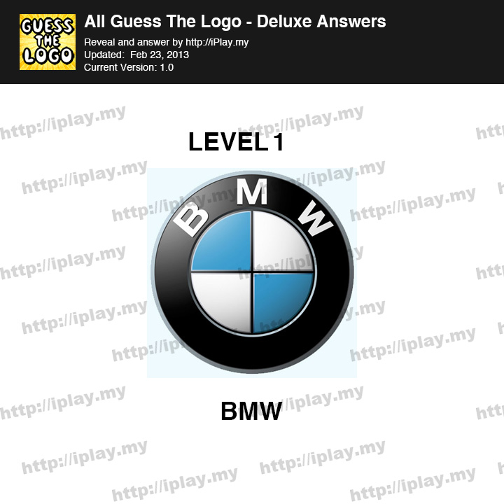 Guess Logo Deluxe Level 1
