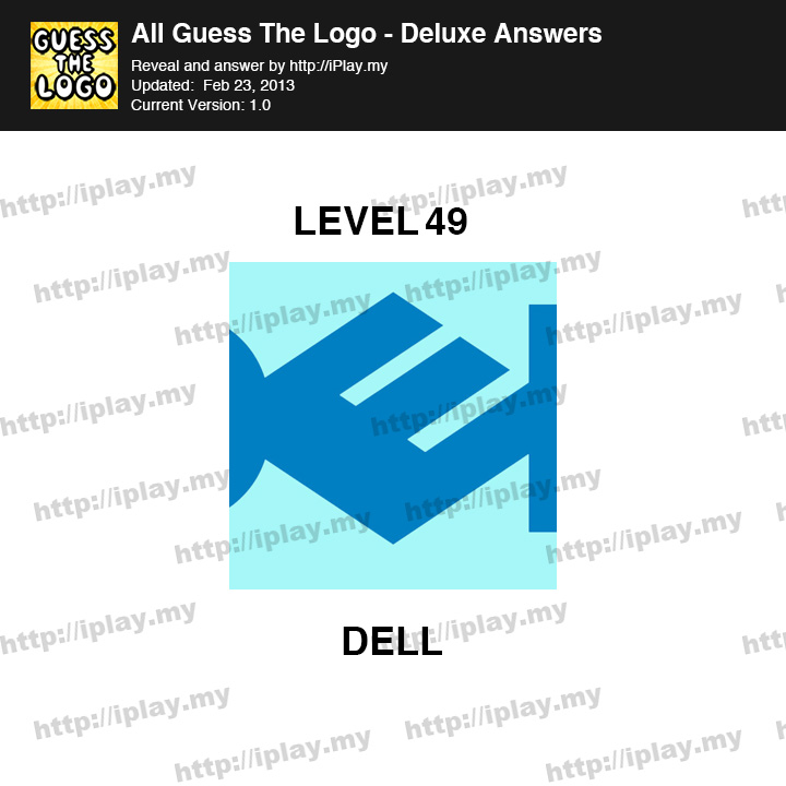 all guess the logo deluxe answers iplay my page 33