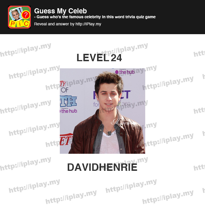 Guess The Celebrity (Taps Arena): Pack 3 Level 24 Answer ...