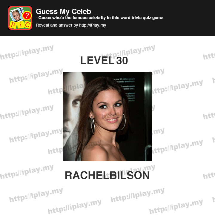 Celebrity Quiz Guess Stars Answers All Levels | Help and ...