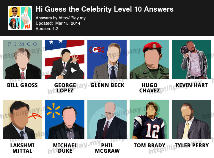 QuizCraze Celebrity Mania - Guess who's the pop celeb star ...